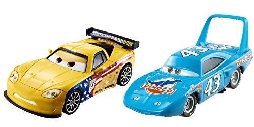 Disney Cars 3 Jeff & King Die-Cast Vehicle 2-Pack (King Cars)