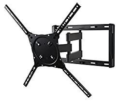 Peerless Etalu Full Motion Tilting Wall Mount For 42-75 Inch Displays Etx Univ Fmplus Nonsec (Black)