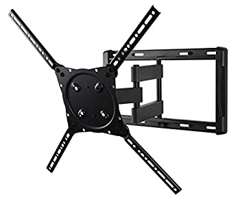 Peerless Etalu Full Motion Tilting Wall Mount For 42-75 Inch Displays Etx Univ Fmplus Nonsec (Black) 0