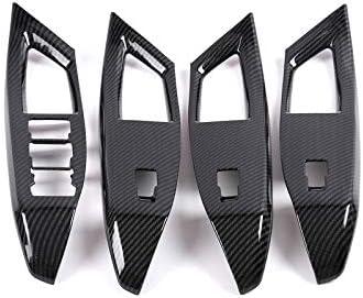 CarAutotrim para Focus MK4 2018 2019 1 Pieza Aspecto de Fibra de Carbono para Volante