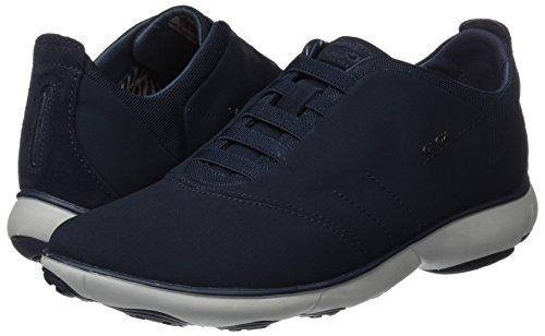 F U Geox Hombre Zapatillas Azul Para Nebula navy qCEFdwE