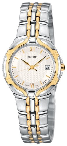 Buy lady seiko two toned watch