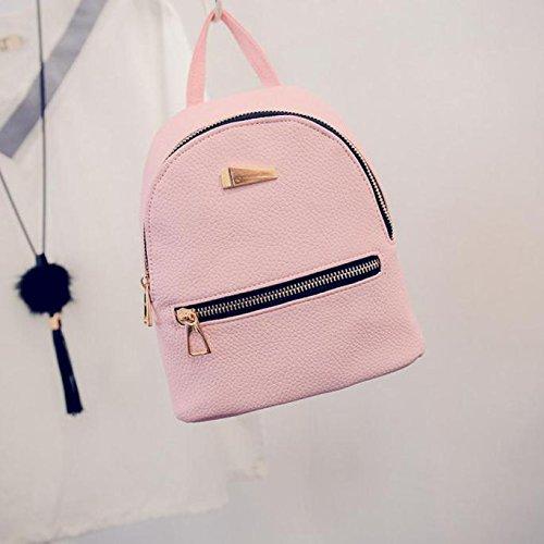 Travel Rucksack Bag Women's Pink Backpacks Schoolbag PLOT School Bags Backpack Handbag zt4wS