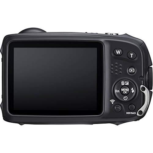 Fujifilm FinePix XP140 Shock & Waterproof Wi-Fi Digital Camera (Yellow) with 64GB Card + Battery + Charger + Case + Tripod + Kit