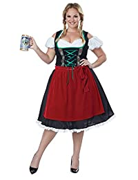 California Costumes Women's Plus-Size Oktoberfest Fraulein Costume