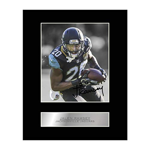 Jalen Ramsey Signed Mounted Photo Display Jacksonville Jaguars NFL Autographed Gift Picture Print