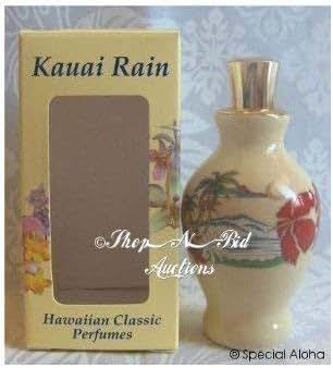 Hawaiian Kauai Rain Perfume by Edward Bell, Hawaiian Classic Perfumes 0.25 oz