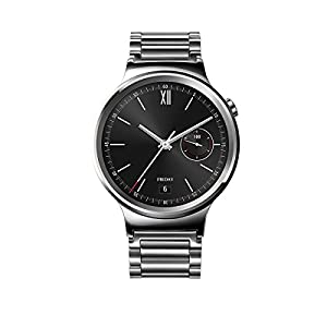 huawei watch stainless steel with stainless steel link band us warranty