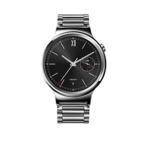 Huawei Watch Stainless Steel with Stainless Steel Link Band (U.S. Warranty) by Huawei
