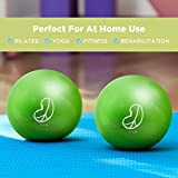 Soft Weighted Balls - 2lbs Lime