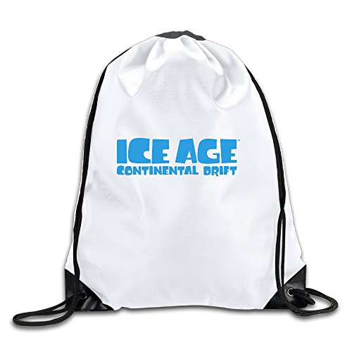 OAO Ice Age Continental Drift Logo Drawstring Backpacks/Bags.