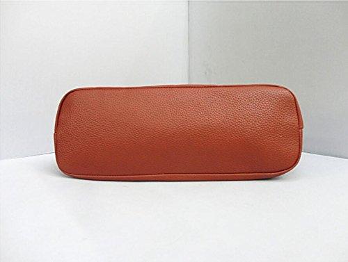 Package Handbag Handbag Bag Decoration Chain Fashion Embossed Shoulder Meaeo Fashion qvaWzz