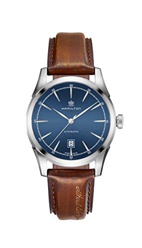 ساعت مچی مردانه همیلتون مدل H42415541 با بند چرمی