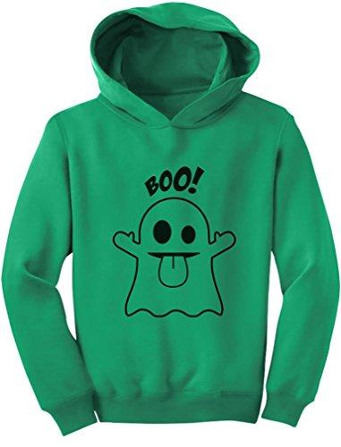 Easy Cute Halloween Costumes For Toddlers (Tstars TeeStars - Baby Boo Ghost Costume Cute Easy Halloween Toddler Hoodie 2T Green)