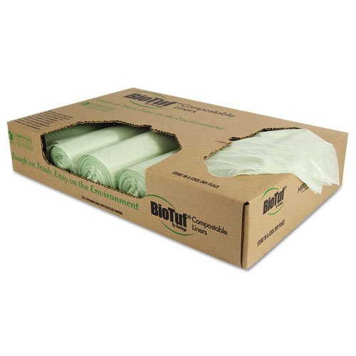 HERY6848YER01 - Biotuf Compostable Can Liners by Heritage Products
