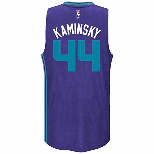 Frank Kaminsky Charlotte Hornets NBA Adidas Purple Official Climacool Alternate Swingman Jersey For Men (S)