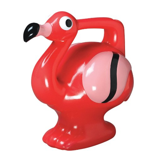 Painted Watering Can (Allied Precision G-15 2-Quart Flamingo Children's Watering)