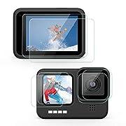 [6 Stück] Deyard Displayschutzfolie für GoPro Hero 9, Ultraklarer Schutz aus Gehärtetem Glas für Bildschirm/Linse/Kleine…