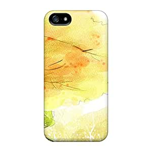 New Style Tpu 5/5s Protective Case Cover/ Iphone Case - The Wind Does Blow