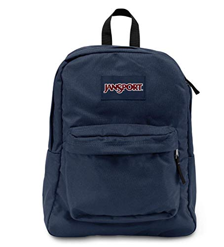 (Jansport Superbreak Backpack (Navy))
