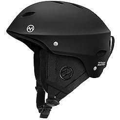 OutdoorMaster KELVIN Ski Helmet - with A...