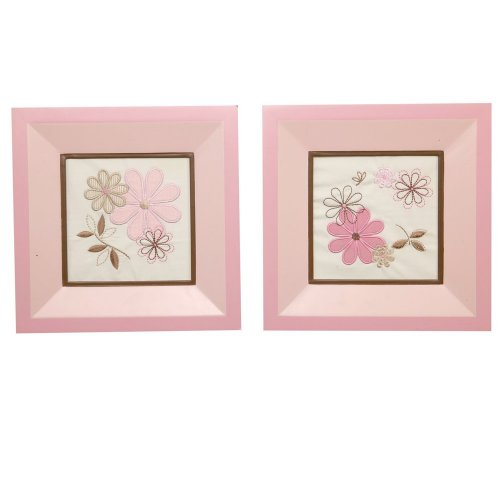 Nautica Haylie 2 Piece Framed Art, Pink/Tan