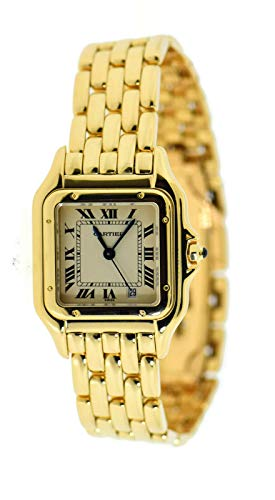 Cartier Panthere de Cartier Quartz Male Watch W25014B9 (Certified Pre-Owned)