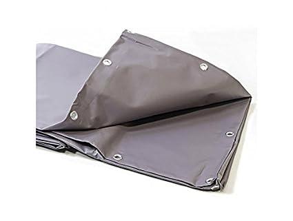 Bache 680 G/m² – 2 x 3 – lona gris – baches PVC –