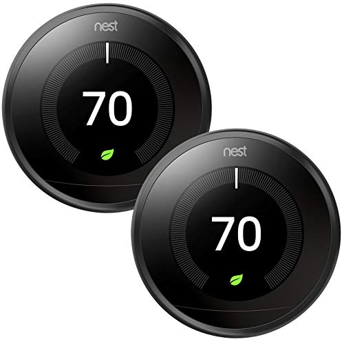 Nest Learning Smart Thermostat 3rd Generation Home/Office Wi