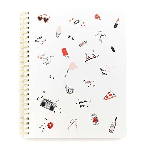 ban.do design Rough Draft Mini Notebook - Girls Just Wanna Have Fun (66534)