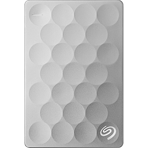Seagate Backup Plus Ultra Slim 2TB Portable External Hard Drive, USB 3 0  Gold + 2mo Adobe CC Photography (STEH2000101)