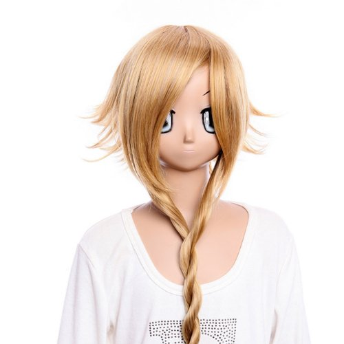[28 ''inch Cosplay wig Cosplay Wig Party wig SOUL EATER Medusa long shine brown wig cosplay wig Costume wig for] (Medusa Costumes Wig)