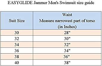 Easyglide Jammer Mens SwimsuitComfortable PBT Fabric for Competition Exercise Training