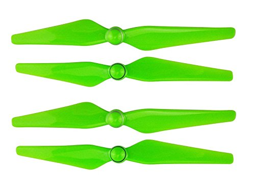 Upgraded Spare Parts Main Blade Propellers CW CCW 9450s Quick Release Propeller for DJI Phantom 4 Pro Rc Quadcopter Prop Set (Green)