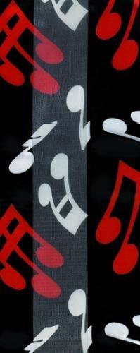 【25%OFF】 Music Treasures Co。ブラックスカーフW Treasures/ホワイトandレッドMusical B008PKPRUA Notes Music B008PKPRUA, MyLittle 家具&雑貨:ef57a0d4 --- arcego.dominiotemporario.com