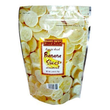 Trader Joes Freeze Banana Slices