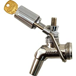 Perlick Wrap-Around Draft Beer Faucet Lock