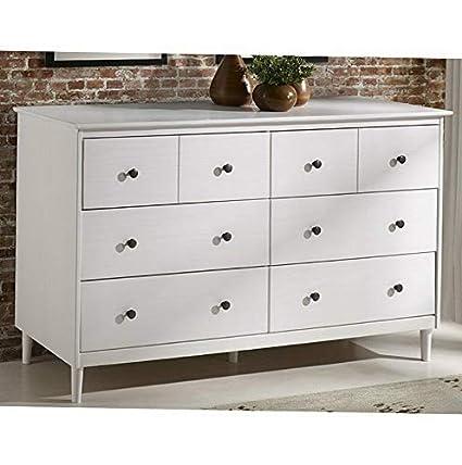 Amazon.com: Hebel Classic Mid-Century 6 Drawer Dresser ...