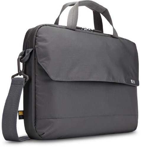 Gray Attache Laptop (Case Logic MLA-116 15.6-Inch Laptop and iPad Attaché (Gray))