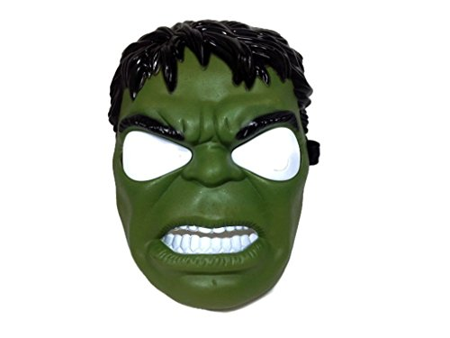 Superhero The Avengers Costume LED Light Eye Mask (Amazing Hulk Costumes)