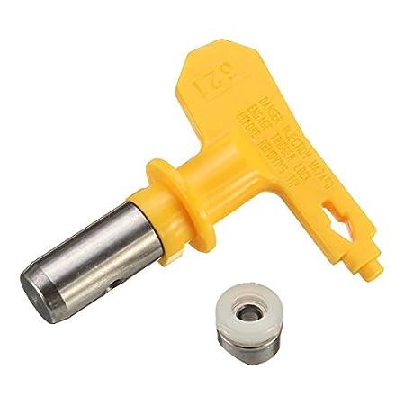 EsportsMJJ Airless Spray Pistola Consejos 6 Serie 13-35 para Wagner Atomex Graco Titan Spray De Pintura Tip-21