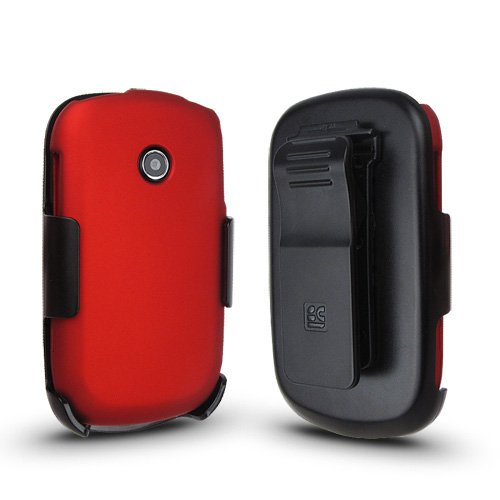 Beyond Cell LG 800G Holster Case Combo with Kickstand - N...