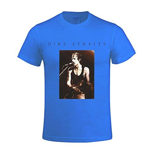 dire-straits-live-in-concert-mens-o-neck-funny-t-shirt-blue