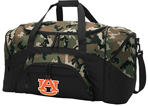 Broad Bay Large Auburn Duffel Bag CAMO Auburn University Suitcase Duffle Luggage Gift Idea for Men Man Him!