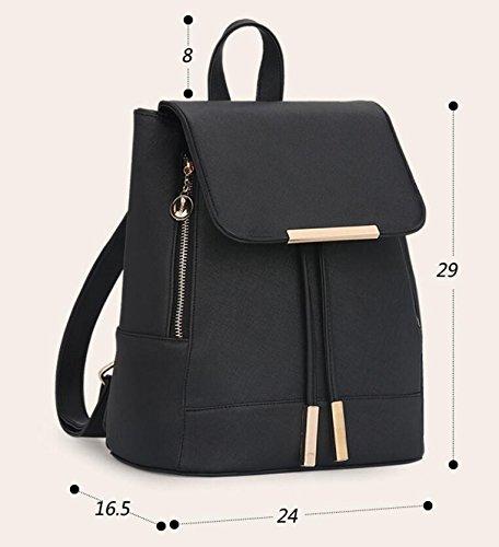 24 femmes 29CM petit à d'université sac nouveau d'été backpack filles bandoulière mode 16 dos sac Sac 5 à Rose XUEYAN des 61qBaWYHww