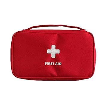 forfar Beautyrain Portátil Vacío Primero Botiquín La Bolsa de Ministerio de Emergencias Médicas Caso Rescate Viajes Bolso