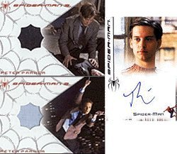 Spider-Man 3 (Movie) - 3-Card Expansion Set A (1 Autograph/2 Costume Cards) #36/225