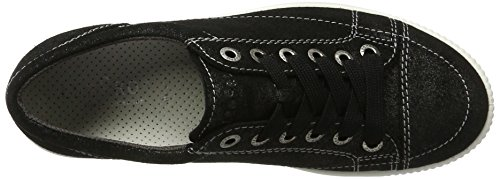 Legero Tanaro - Zapatillas Mujer Negro (Schwarz Kombi 02)