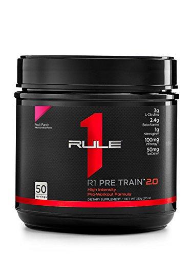 R1 Pre Train 2.0, Rule 1 Proteins (50 servings, Fruit Punch)