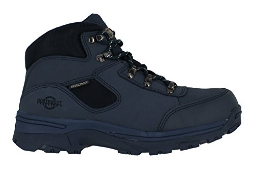 Piel impermeable Hiking totalmente Lace tormenta superior Ladies Nailon Up Azul Walking Boot XwqO8